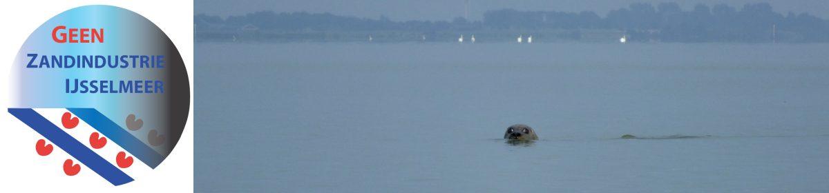 Geen zandindustrie IJsselmeer